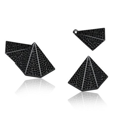 Ear Jacket Margaret - Ródio Negro