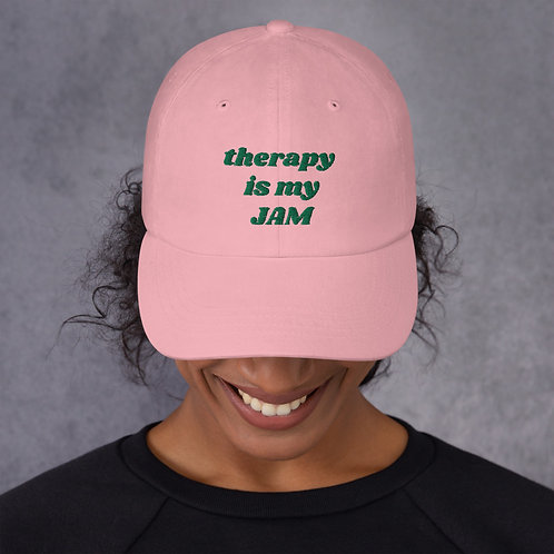 Pink & Green Dad Hat