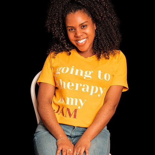"""The """"Going"""" Tee - Gold or Mustard"""