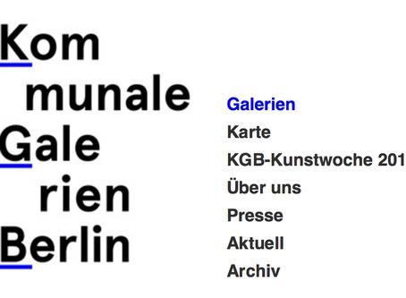 Arbeitsgemeinschaft Kommunale Galerien Berlin: Offener Brief an Bürgermeister Oliver Igel
