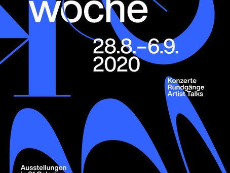 Save the date: KGB-Kunstwoche 2020