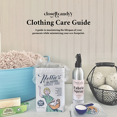 ClosettCandyy Clothing Care Guide - Cove