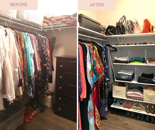 Before + After Closet - Napanee Ontario