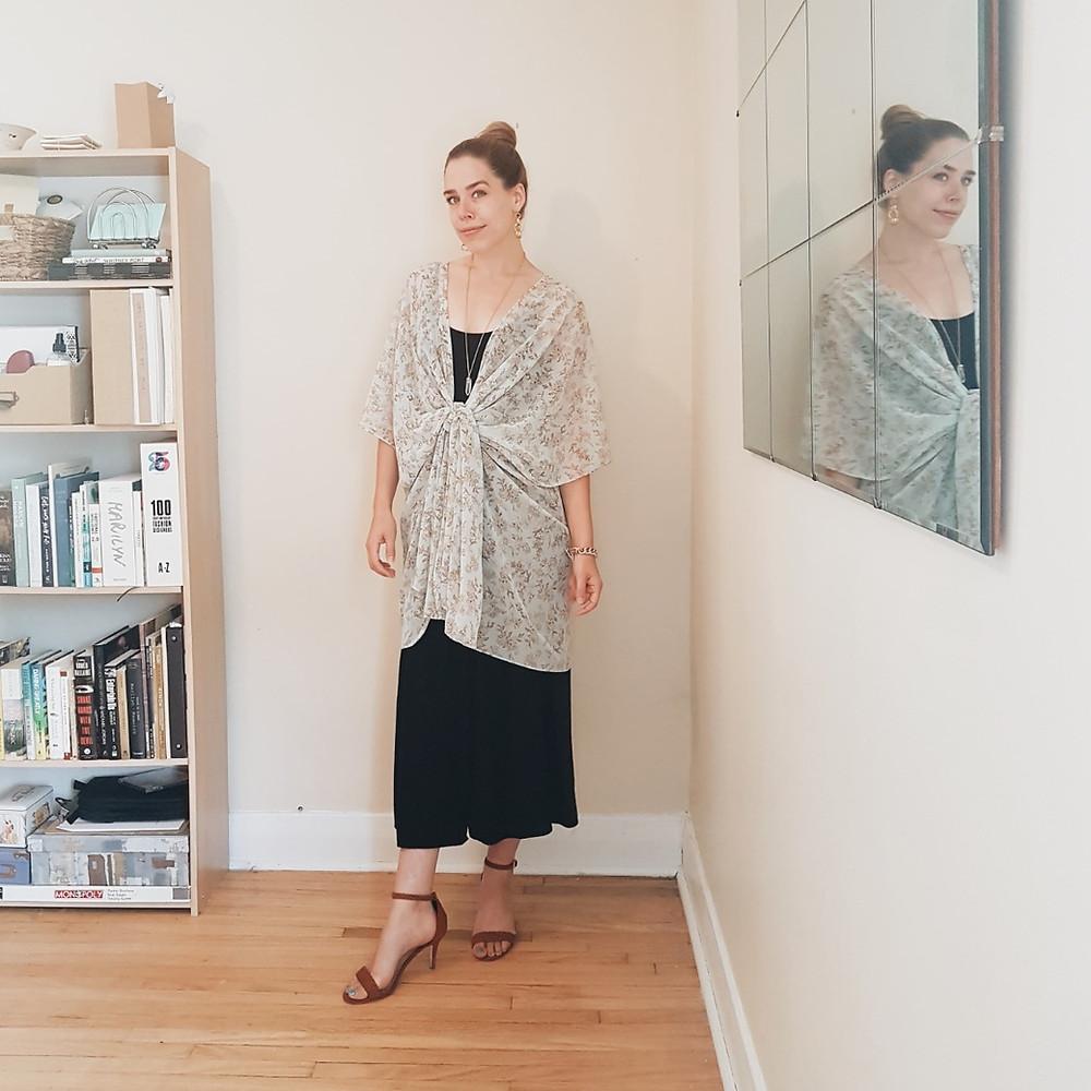 10 Ways To Style A Kimono for Work & Play
