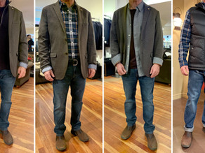 Behind the Scenes: Men's Personal Shopping & Styling