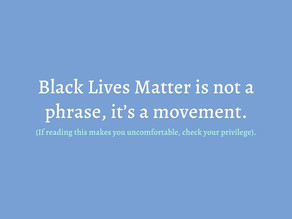 I Stand With the #BlackLivesMatter Movement