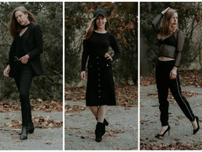 5 Different Ways to Wear All Black Everythang