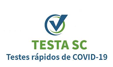 Testes rápidos de Covid-19.