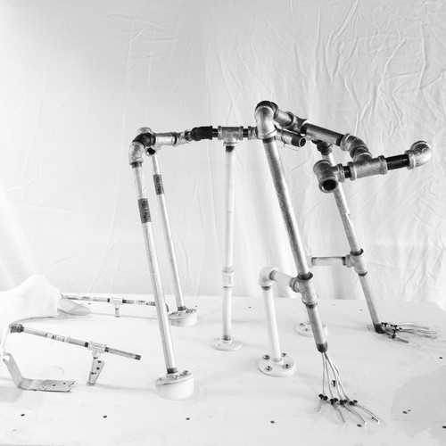 Pipe Armature for Normal Human Female