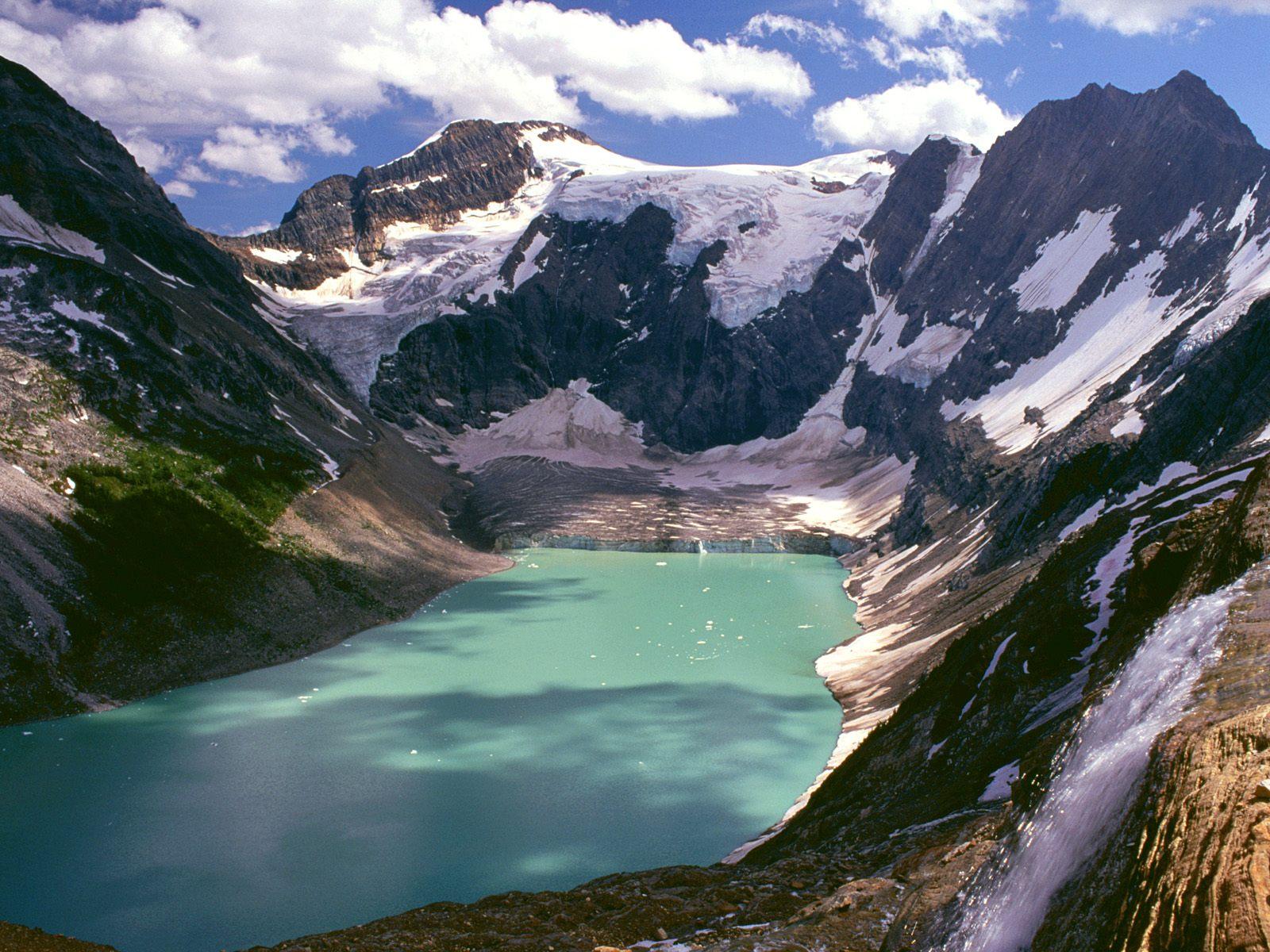 Lake of the Hanging Glaciers, British Columbia