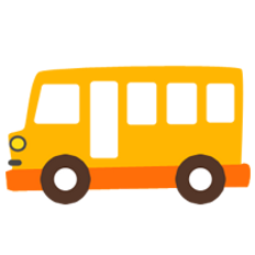 picture of an animated school bus