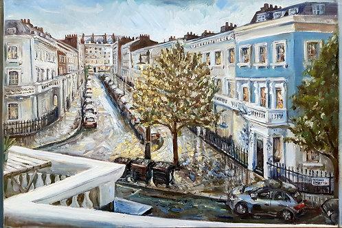 Twilight Rain, Pimlico