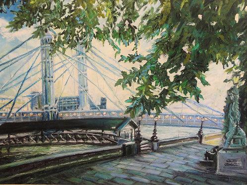 Summer Albert Bridge, London