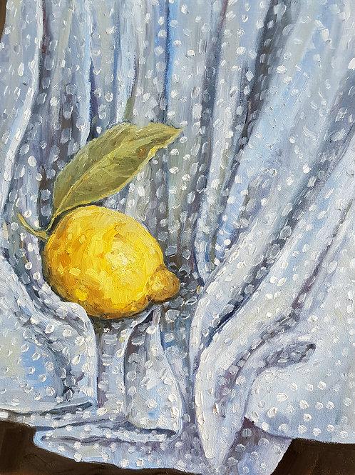 Sorrento Lemon On Dots