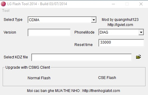 Download LG Flash Tool for all kind of Flashing Processes