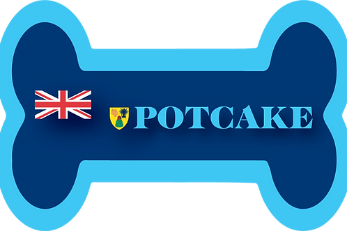 Turks and Caicos  Potcake Decal/Sticker