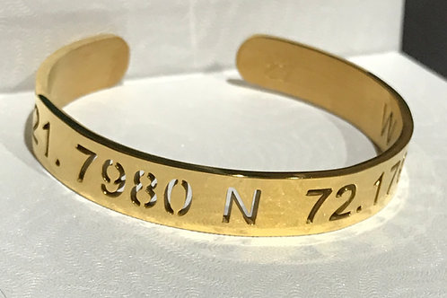 Cake Coordinates Bracelet (Gold)