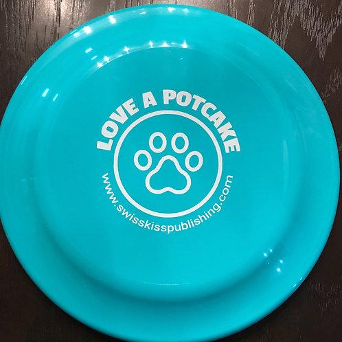 """Love a Potcake"" Frisbee"