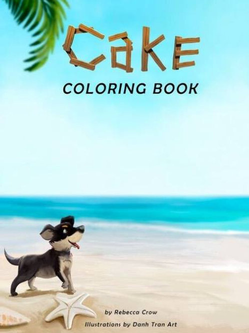 Cake Coloring Book