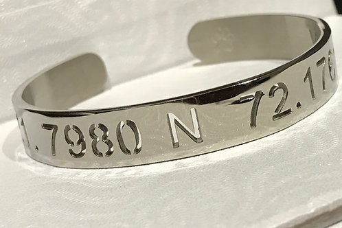 The Cake Coordinates Bracelet (Silver)
