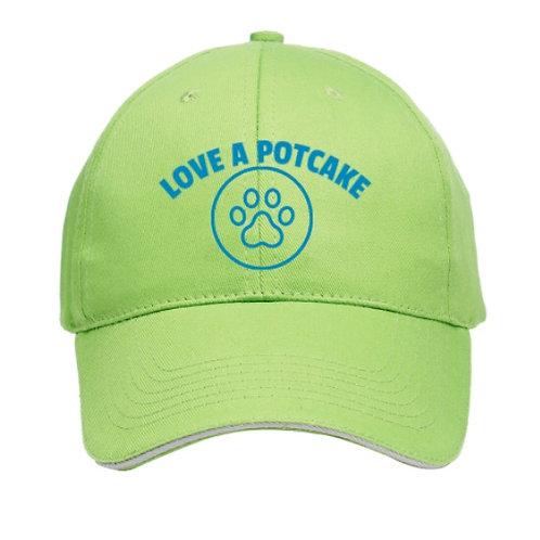 Love a Potcake Baseball Cap (embroidery)