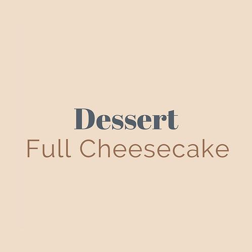 Full Cheesecake (8 Slices)
