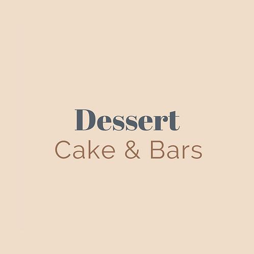 Cake & Bars