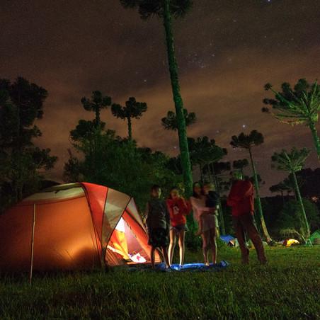 Acampamento e trilhas em Urubici
