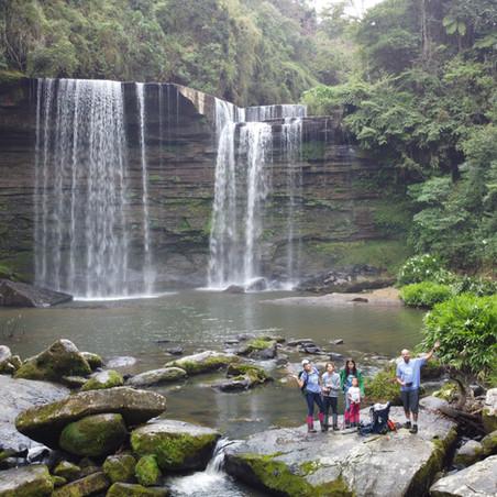 José Boiteux - Camping em um paraíso para quem ama cachoeiras.