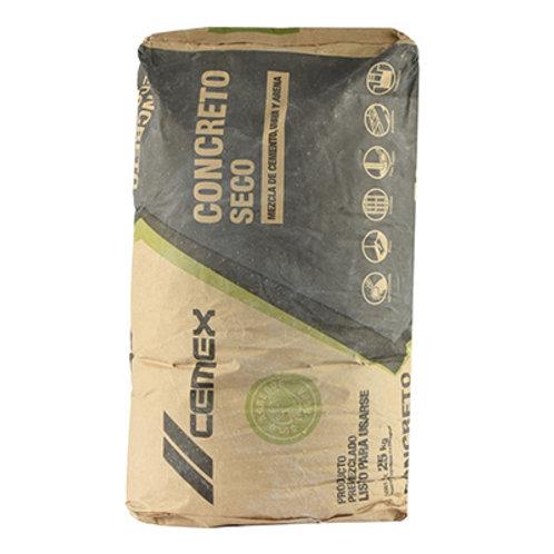 Concreto Seco CEMEX ( 25 kg.bulto).