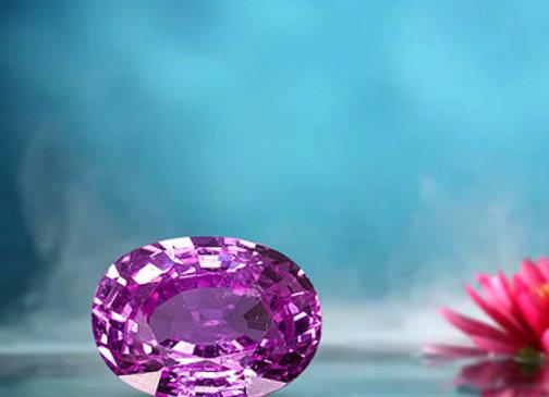 2.42ct Pink Sapphire