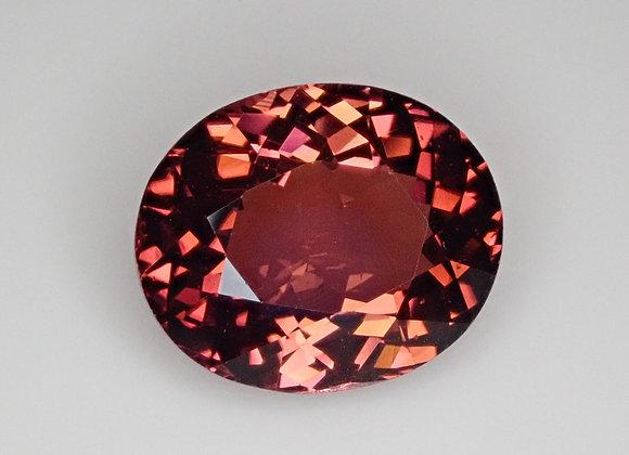 4.92ct Redish/Orange Tourmaline