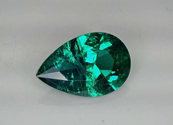 1.21ct Emerald Zambian