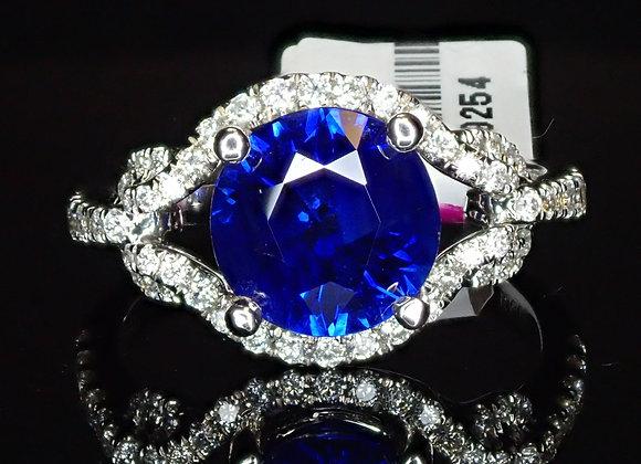 2.26ct Blue Sapphire Ring