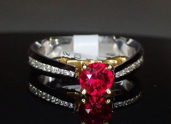 .62ct Burma Ruby Ring