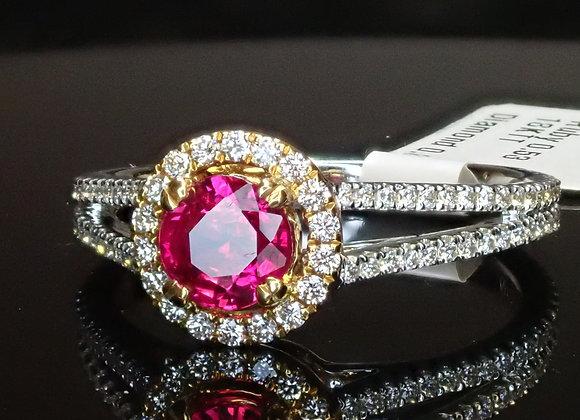 .53ct Ruby Ring - Burma