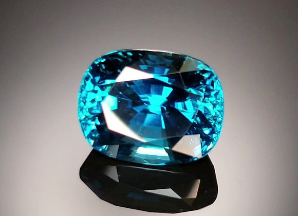 14.05ct Blue Zircon