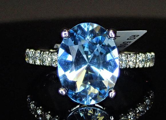 2.67ct Aquamarine Ring