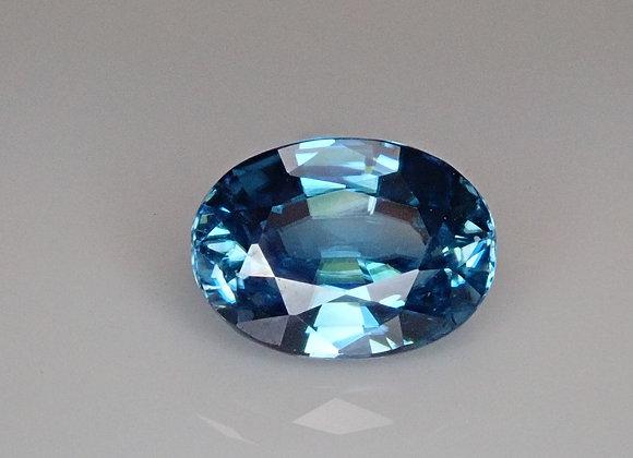 2.98ct Blue Zircon