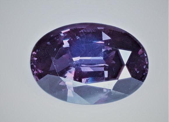 5.49ct Blue Color Change Garnet