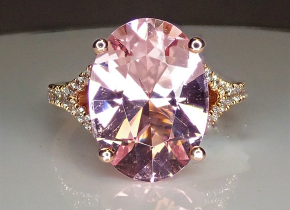 5.82ct Morganite Ring