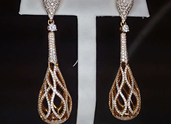 5.50tcw Diamond Earrings