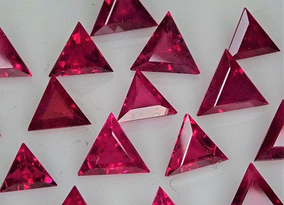 10.23tcw Burma Ruby Mixed Sized Trillions
