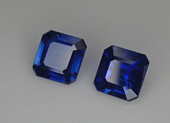 1.25tcw Sapphire Pair