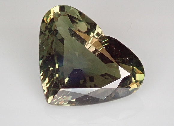 7.37ct Alexandrite Heart