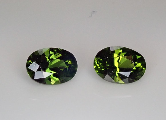 1.51ct Chrome Tourmaline Pair