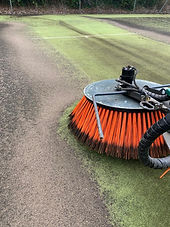 Sweeping Brush During Service_