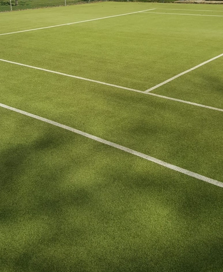 Synthetic Grass Surface After Maintenance Service