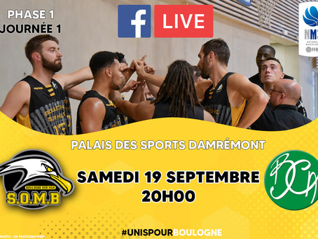 🏀ANNONCE MATCH NM3🏀