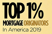 Dave Lesjak Top 1% Mortgage Origintors in America 2019